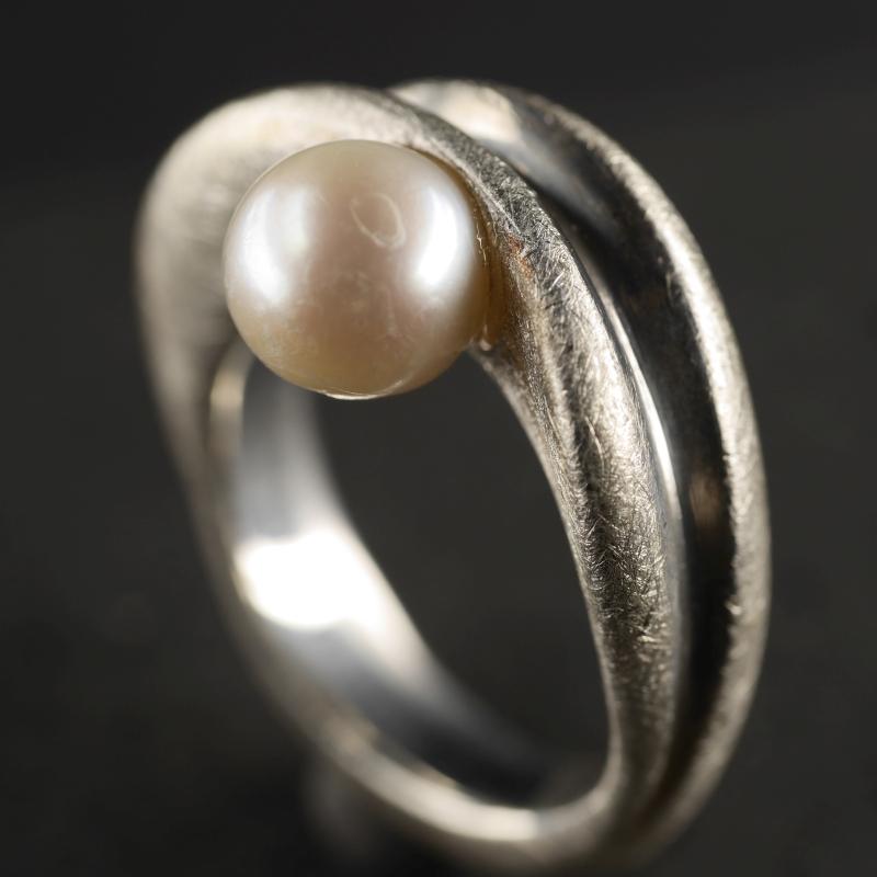 (16107) Wellenring mit Perle