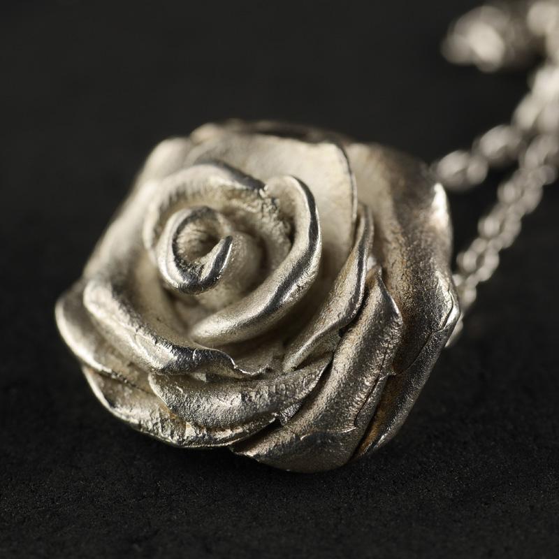 (17041) Kettenanhänger Rose