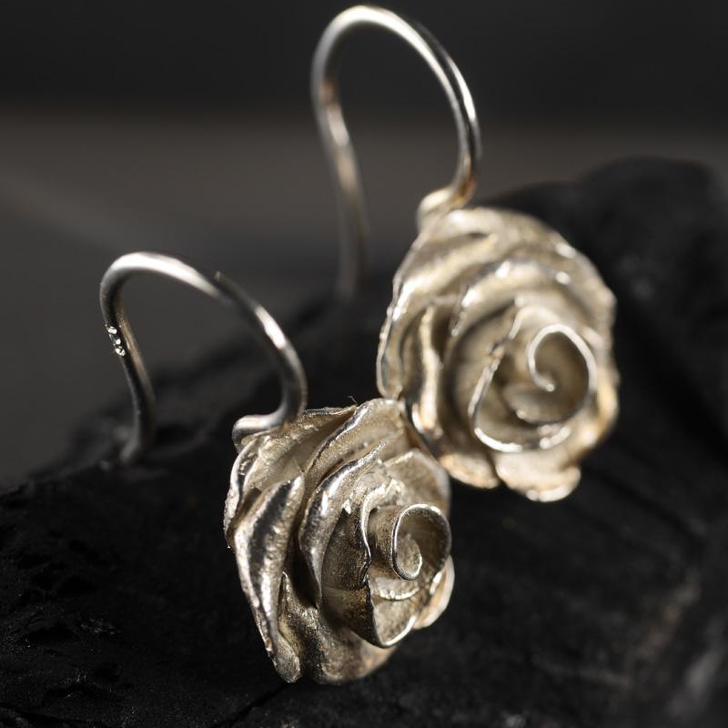 (18009) Ohrhänger Rose