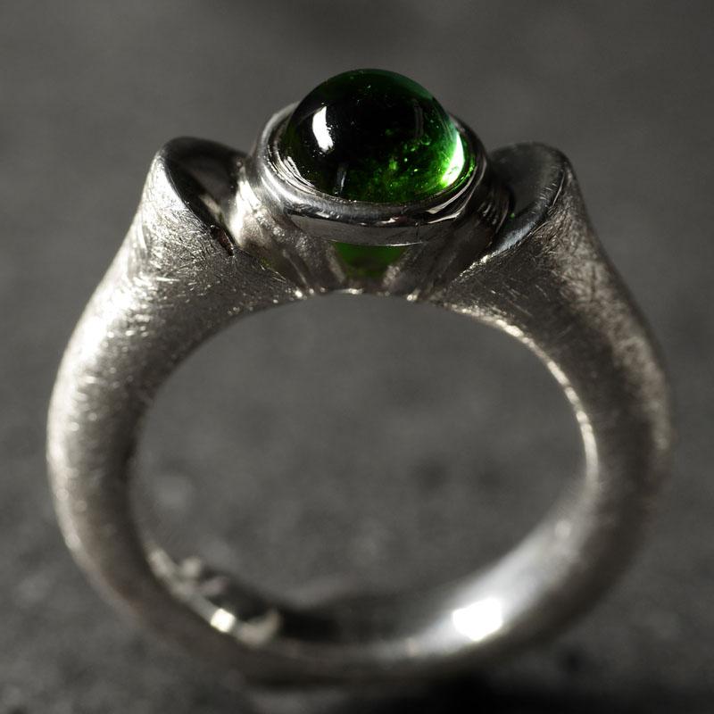 (16007) Königinring grüner Turmalin