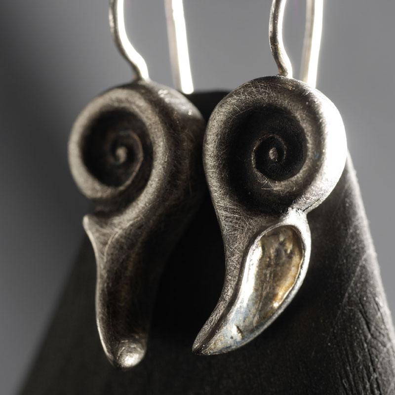 (18003) Schnecken Ohrhänger